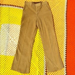 Vtg 70s Corduroy Pants